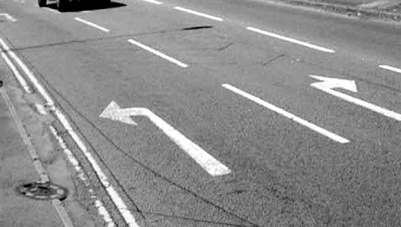 YASA > Nashra 21 > Road Arrows