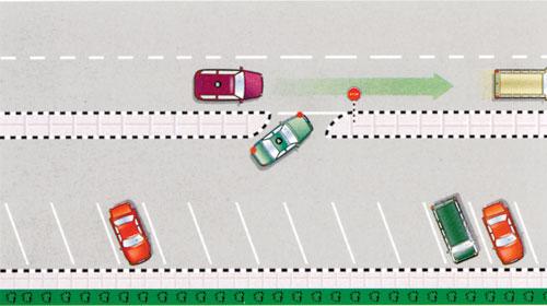 YASA Nashra 23 > Road lines