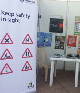 The participation of Renault and Yasa in an exhibition at Sagesse University