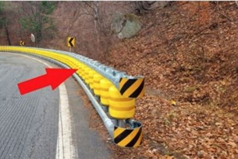This Seems to Be Just an Ordinary Roadside Barrier,